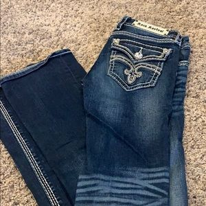 "27x33 ""Gladys"" boot cut Rock Revival Jeans Worn 2x"